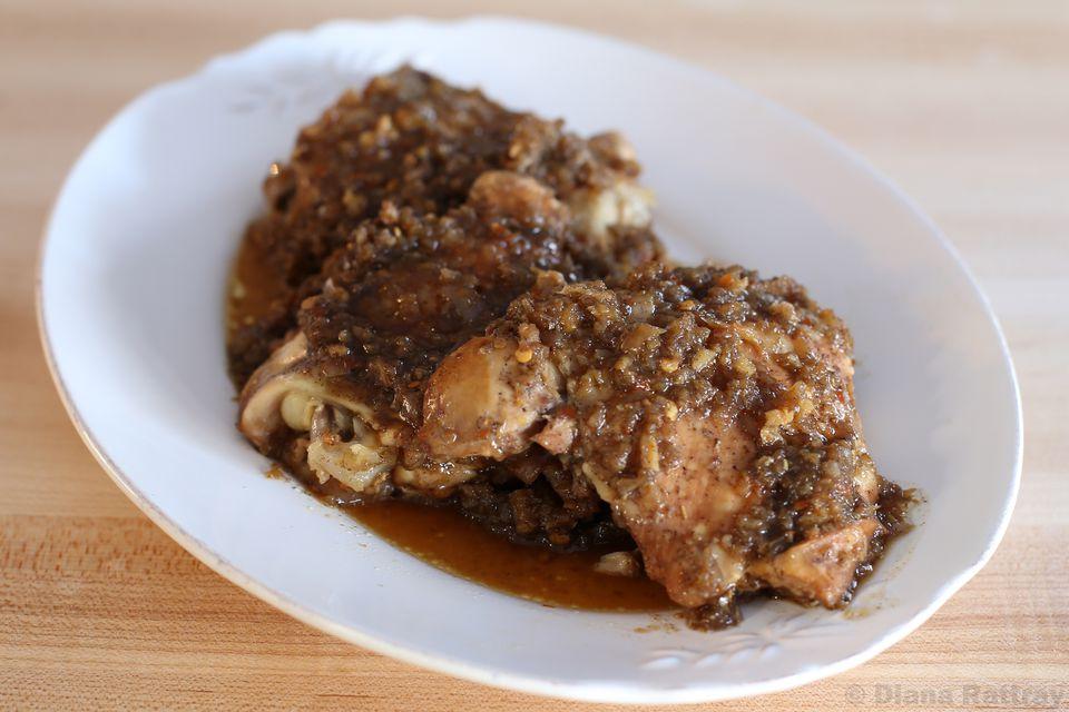 Crock Pot Jerk Chicken
