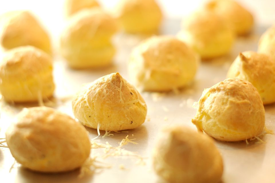 What are gougeres?