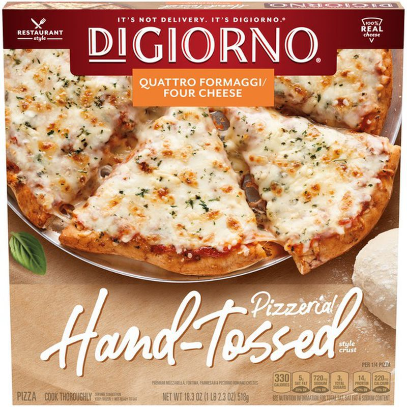 DiGiorno Quatro Formaggi/Four Cheese Hand-Tossed Style Crust Frozen Pizza