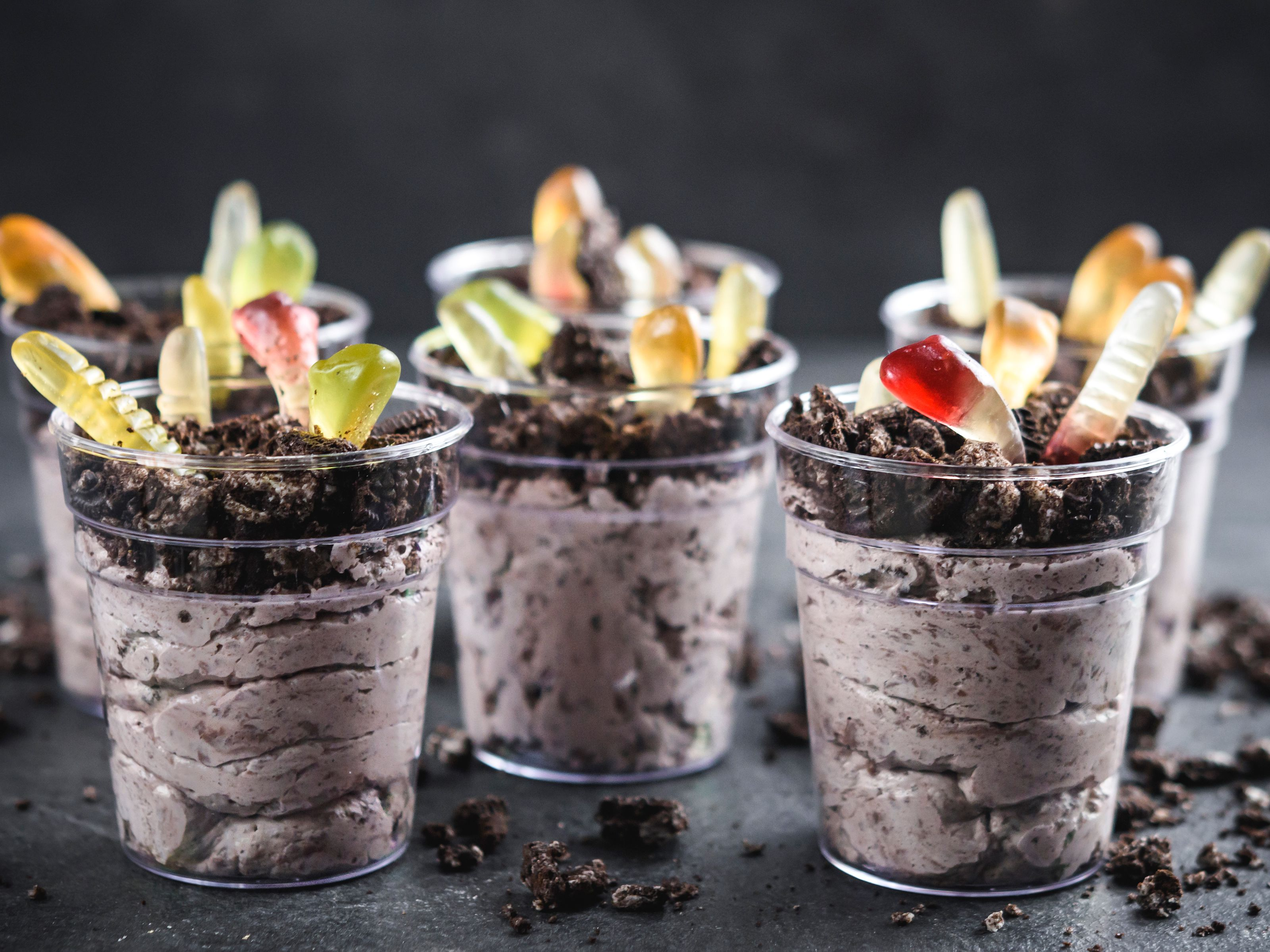 Pudding Dirt Dessert Cups Recipe