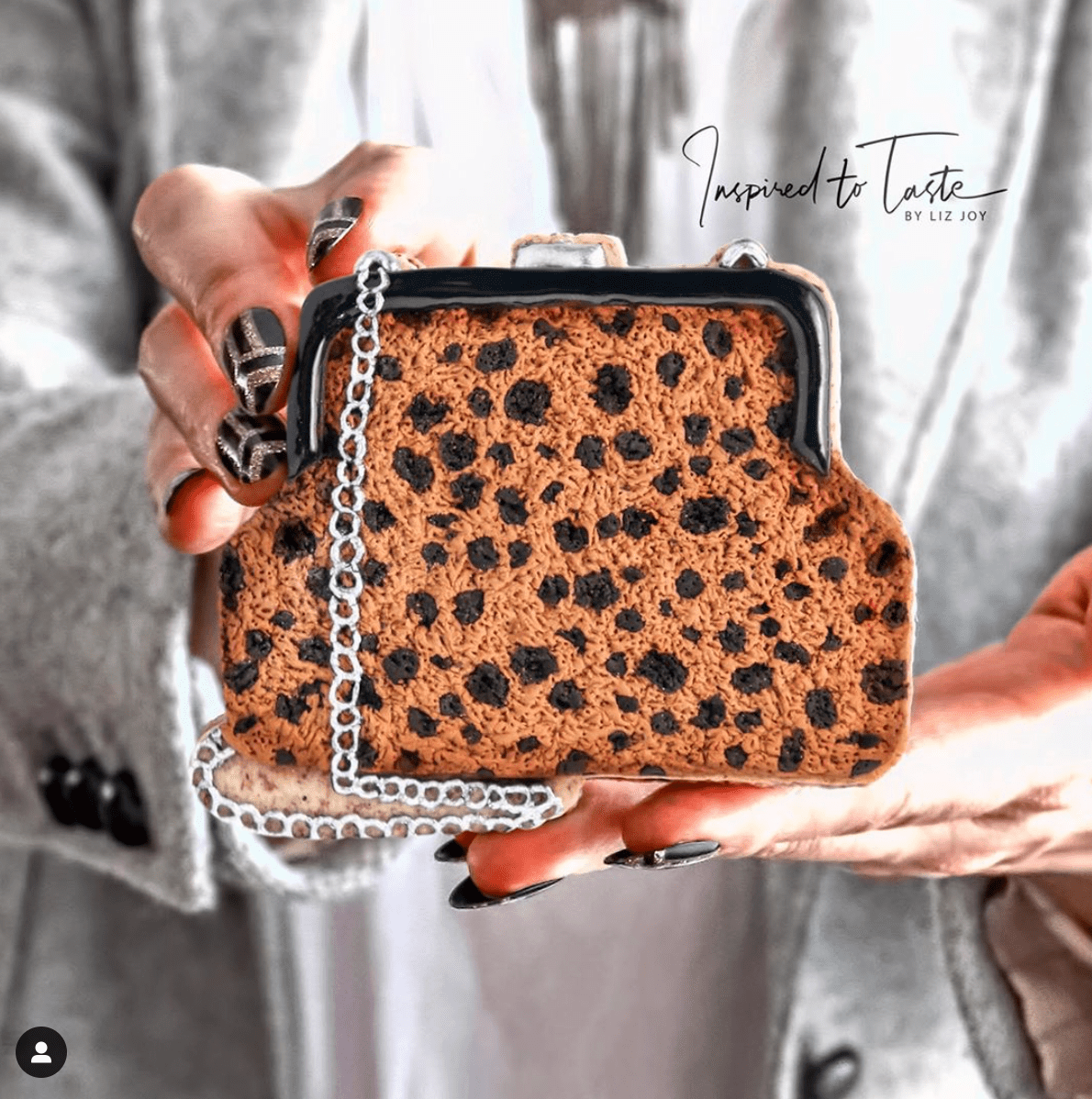Inspired to Taste cookie purse