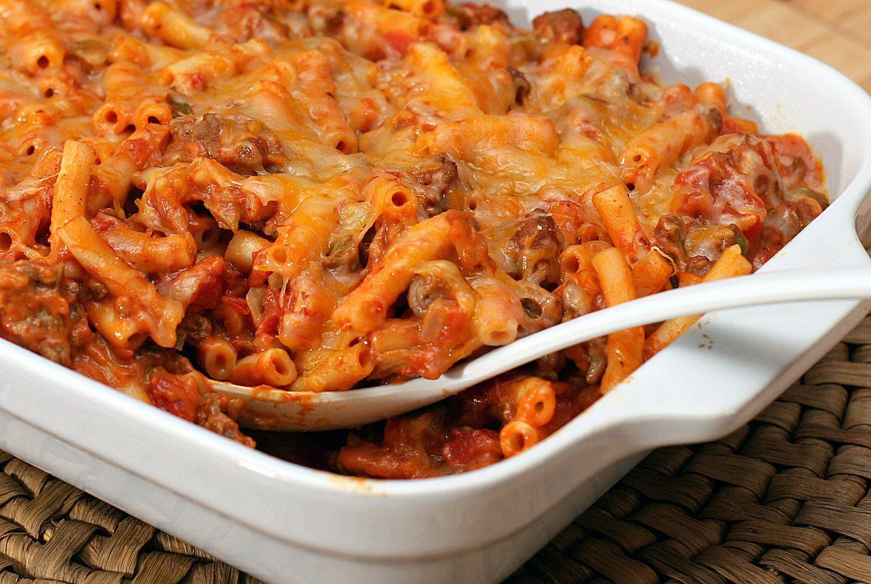 Tex-Mex Macaroni and Ground Beef Casserole