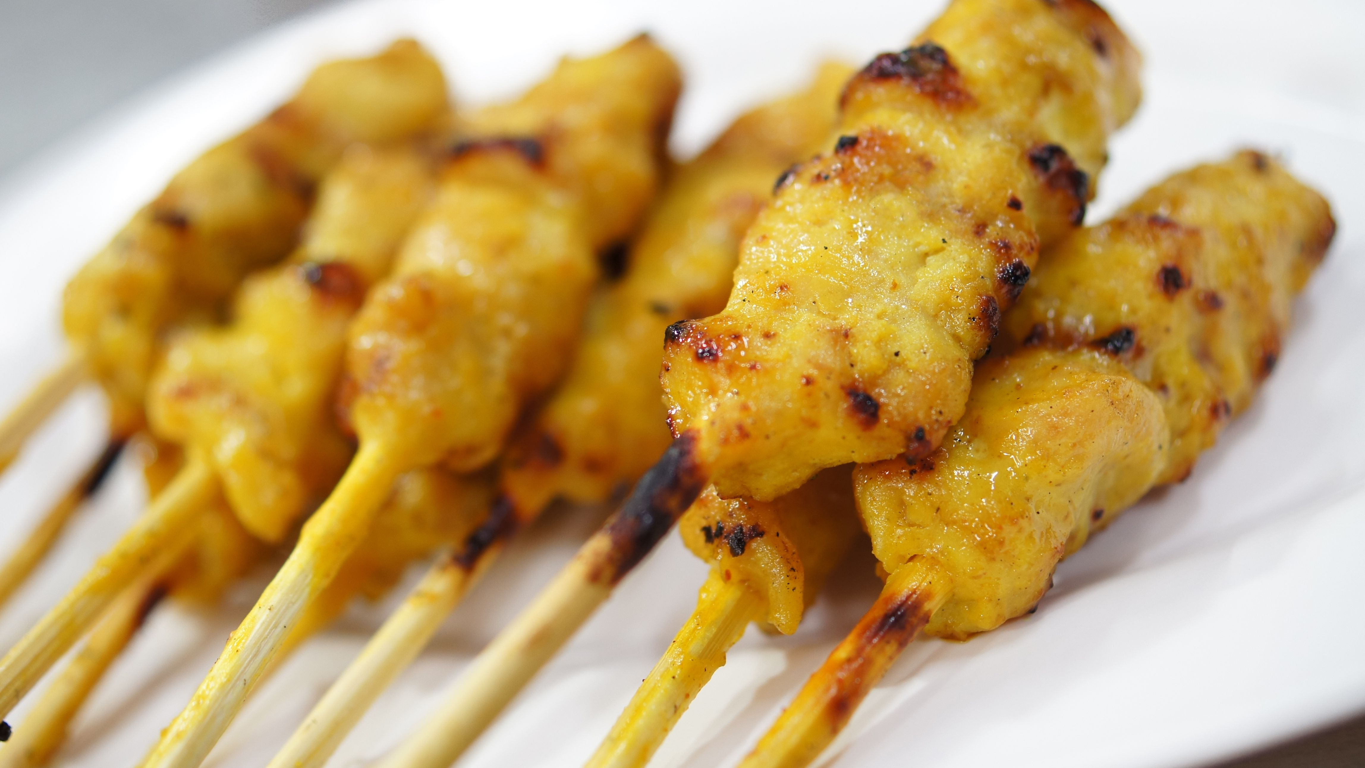 Easy Thai Chicken Satay With Peanut Sauce Recipe