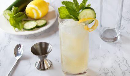 Sparkling Shamrock Cocktail