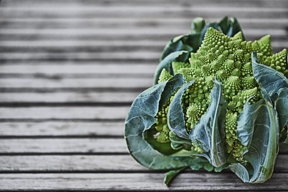 Broccoflower or Romanesco broccoli