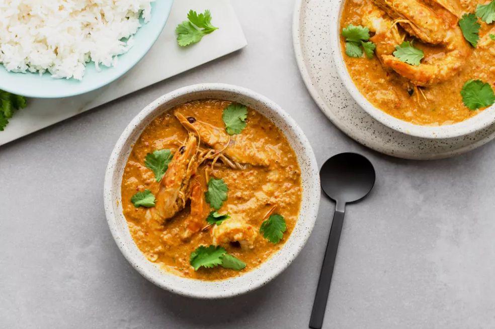 Malai Prawn (Creamy Prawn Curry)