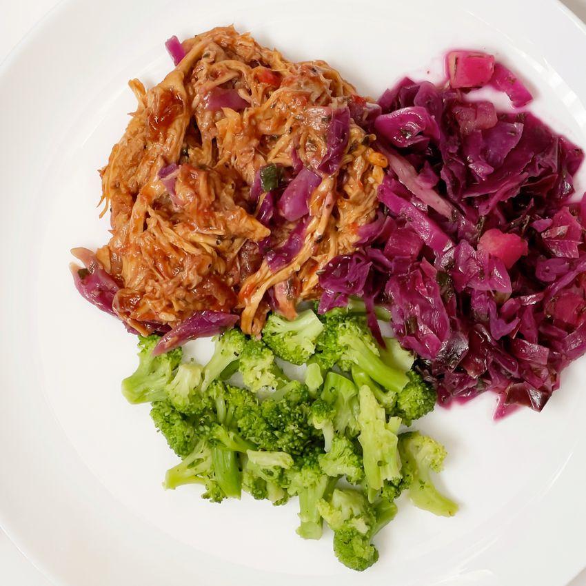 BistroMD meal on plate