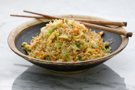 Photo instructions and recipe for fried rice fried rice ccuart Image collections