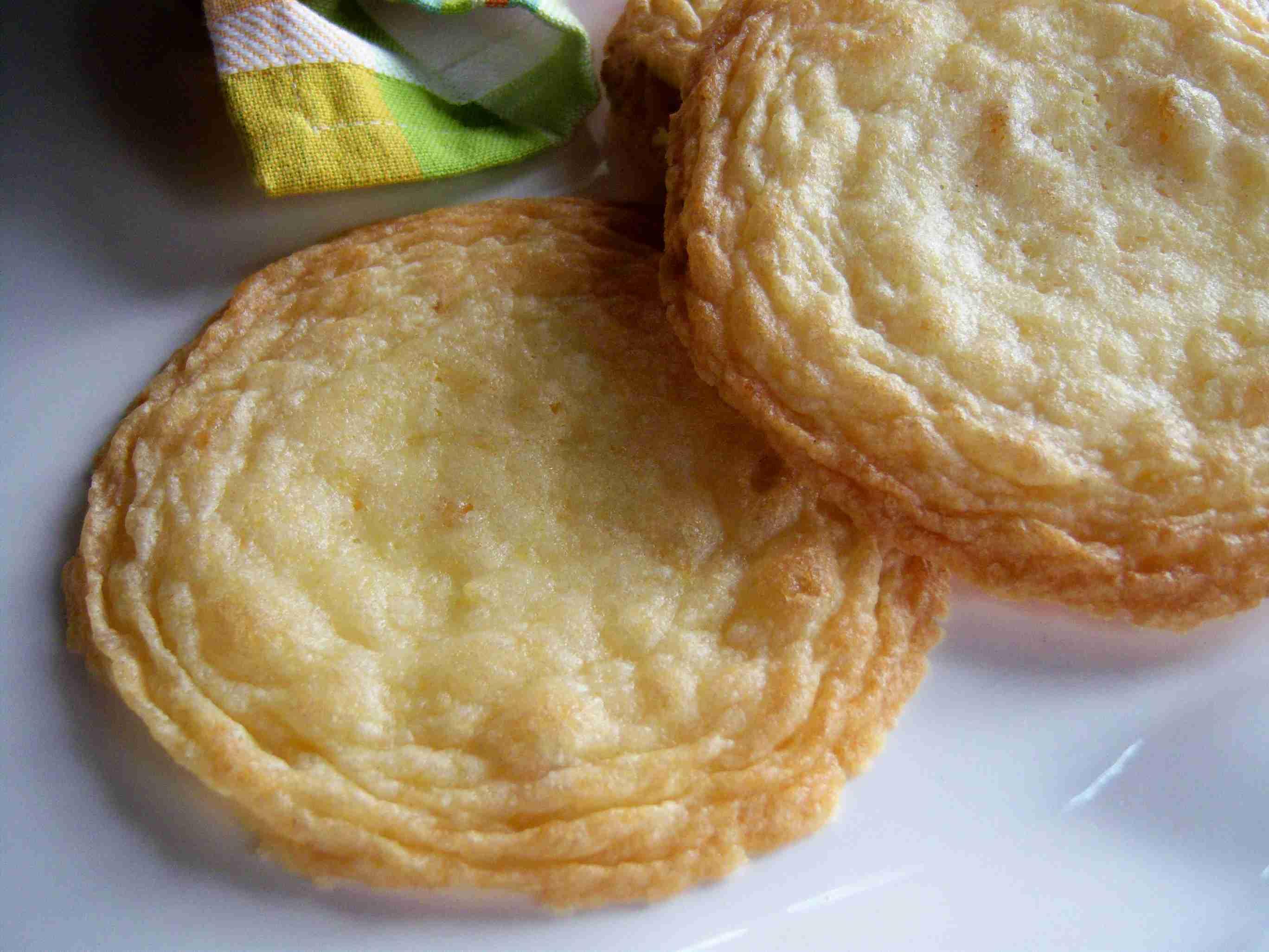 Gluten-free giant lemon ginger crisp cookies