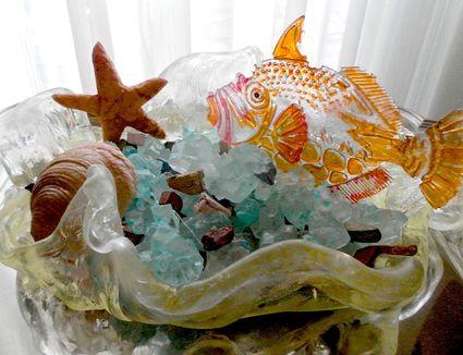 Isomalt sugar decorations