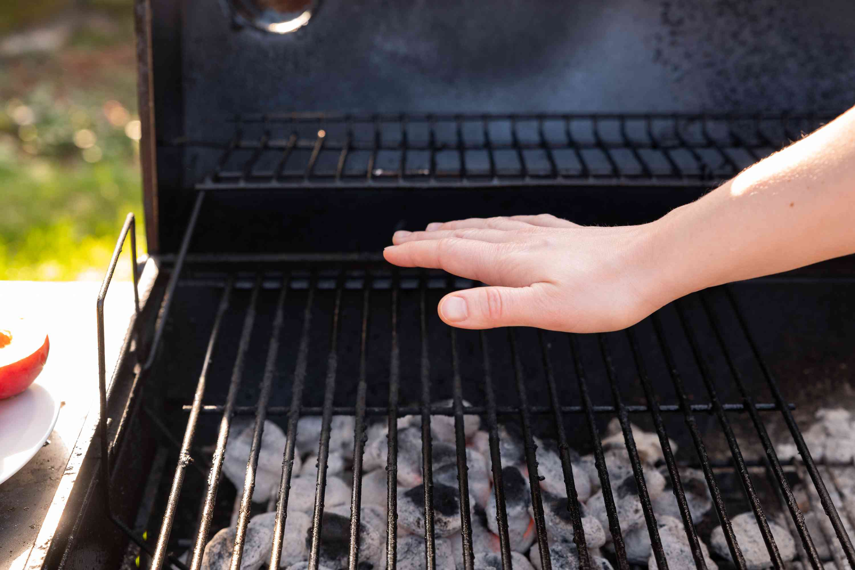 Prepare a gas or charcoal grill