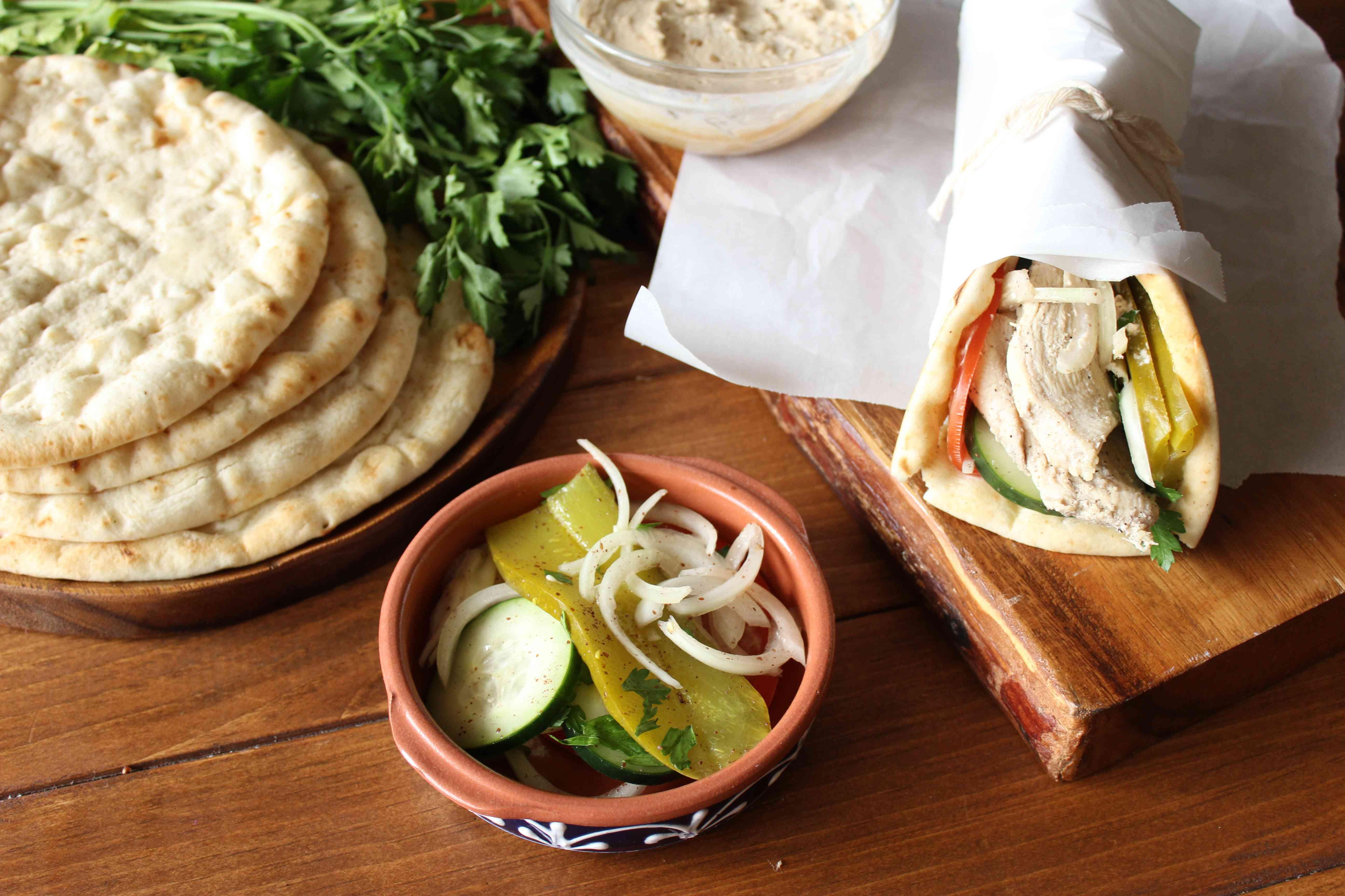 Simple chicken shawarma recipe