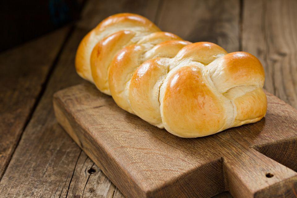 Braided White Bread