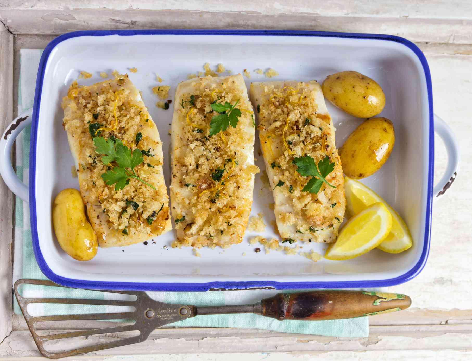 Greek-Style Baked Psari Plaki Fish