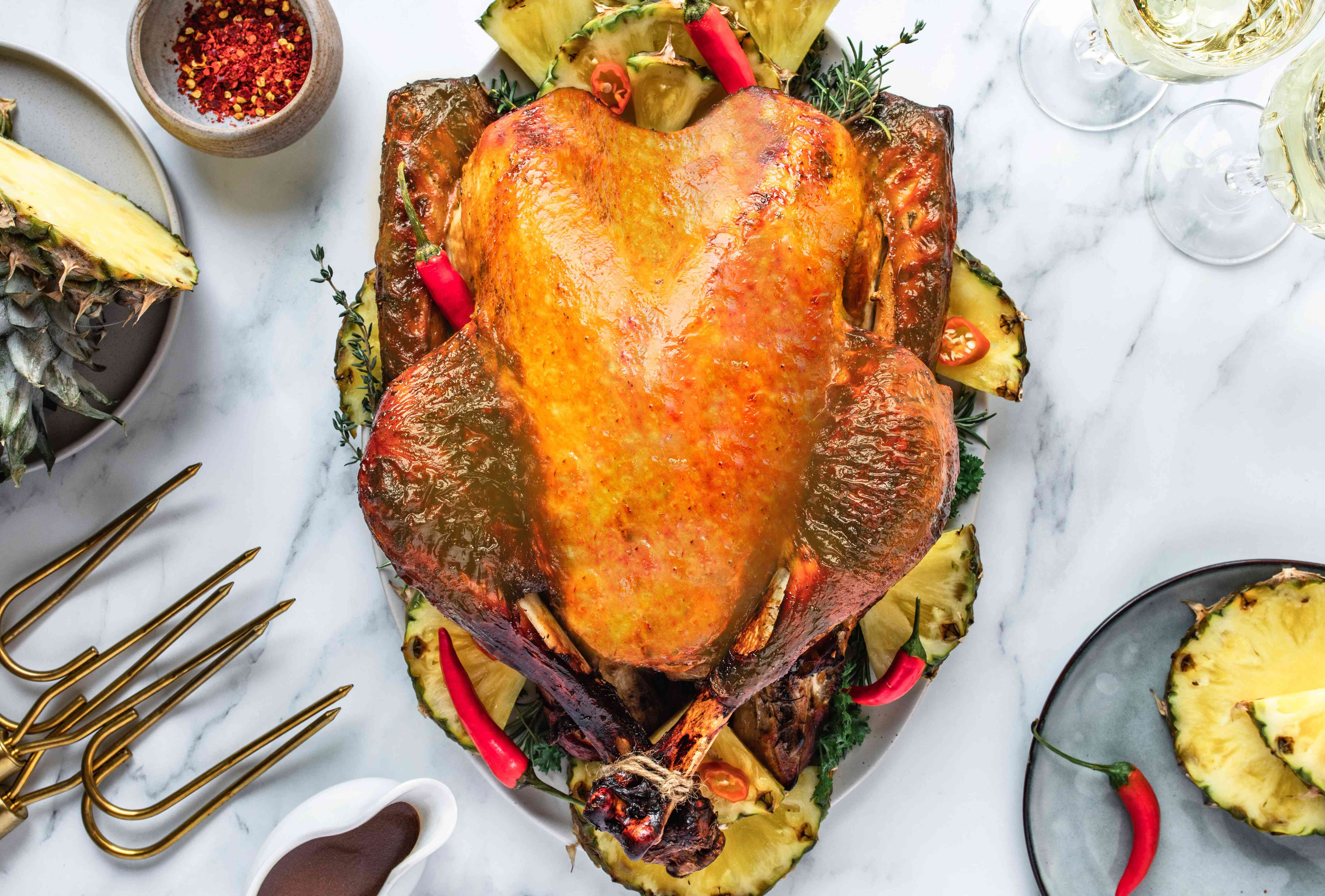 Cook the turkey