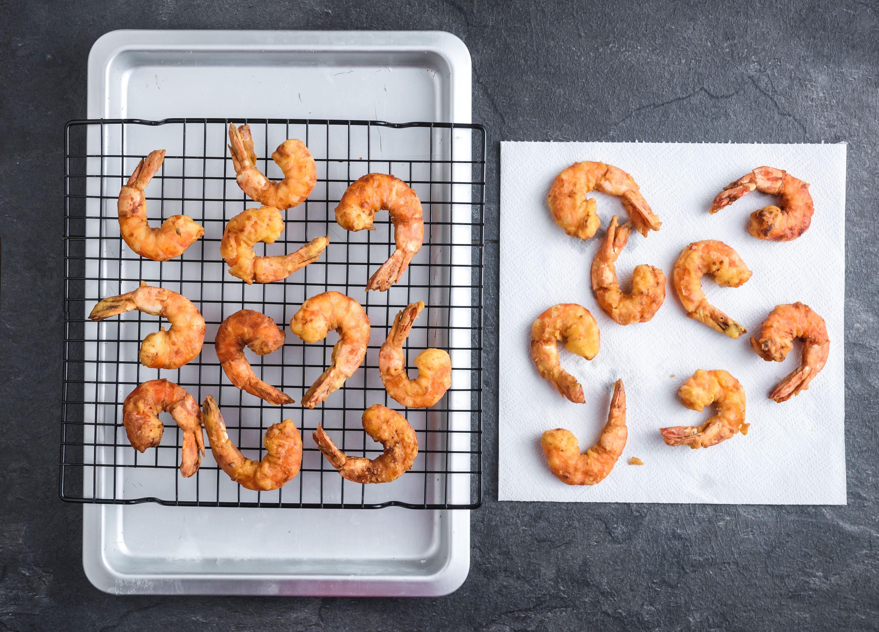 Cornmeal Fried Shrimp Recipe