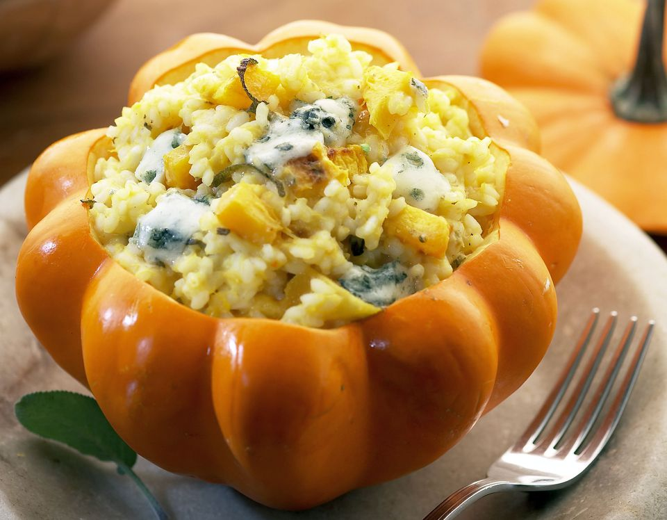 Russian Pumpkin-Rice Casserole