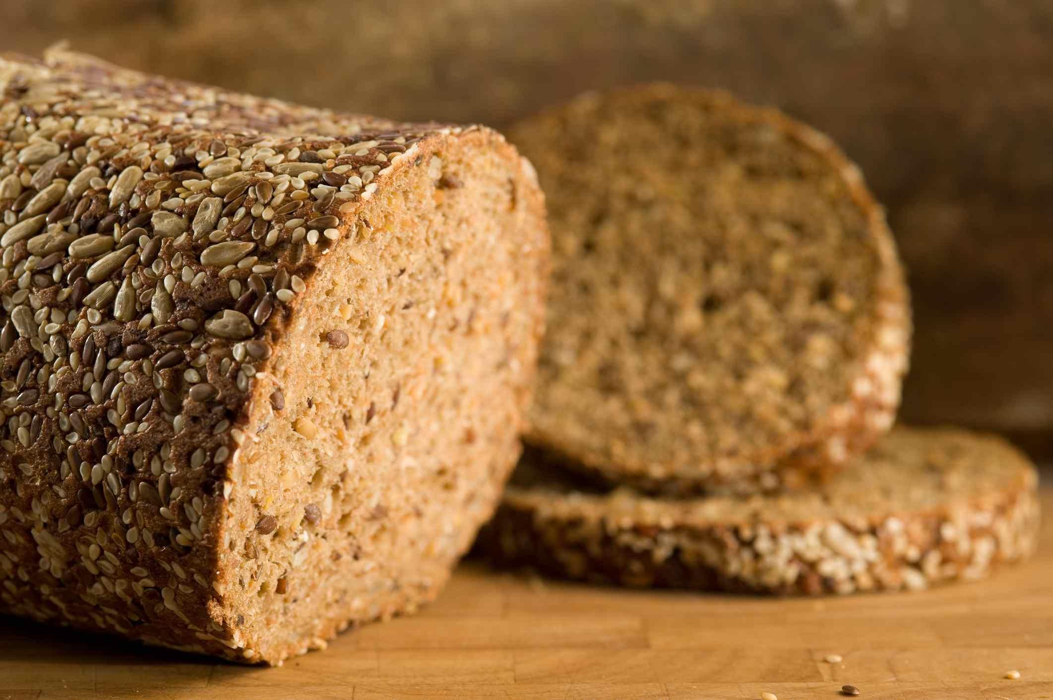 German rye bread- Vollkornbrot