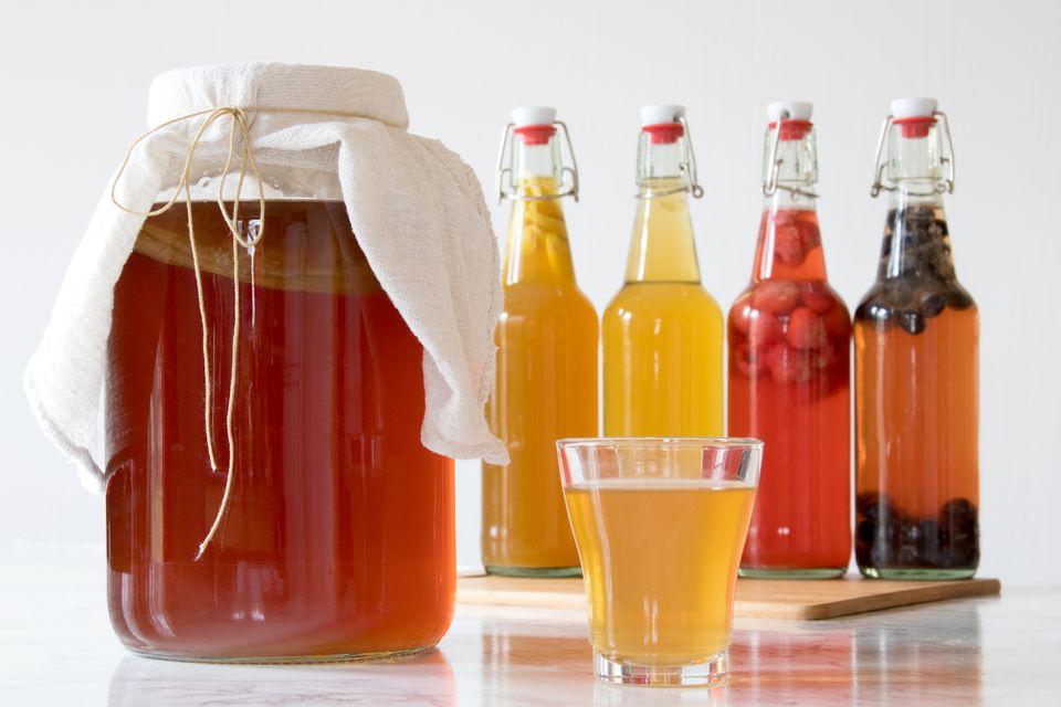 Home-Brewed Kombucha