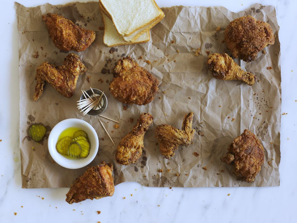 Fried Chicken Breasts for Two