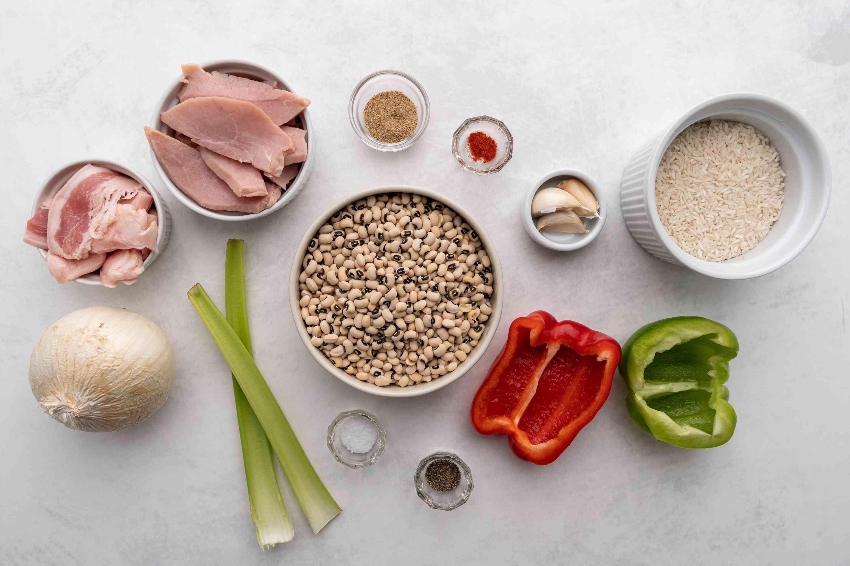 Spicy Southern Black-Eyed Peas ingredients