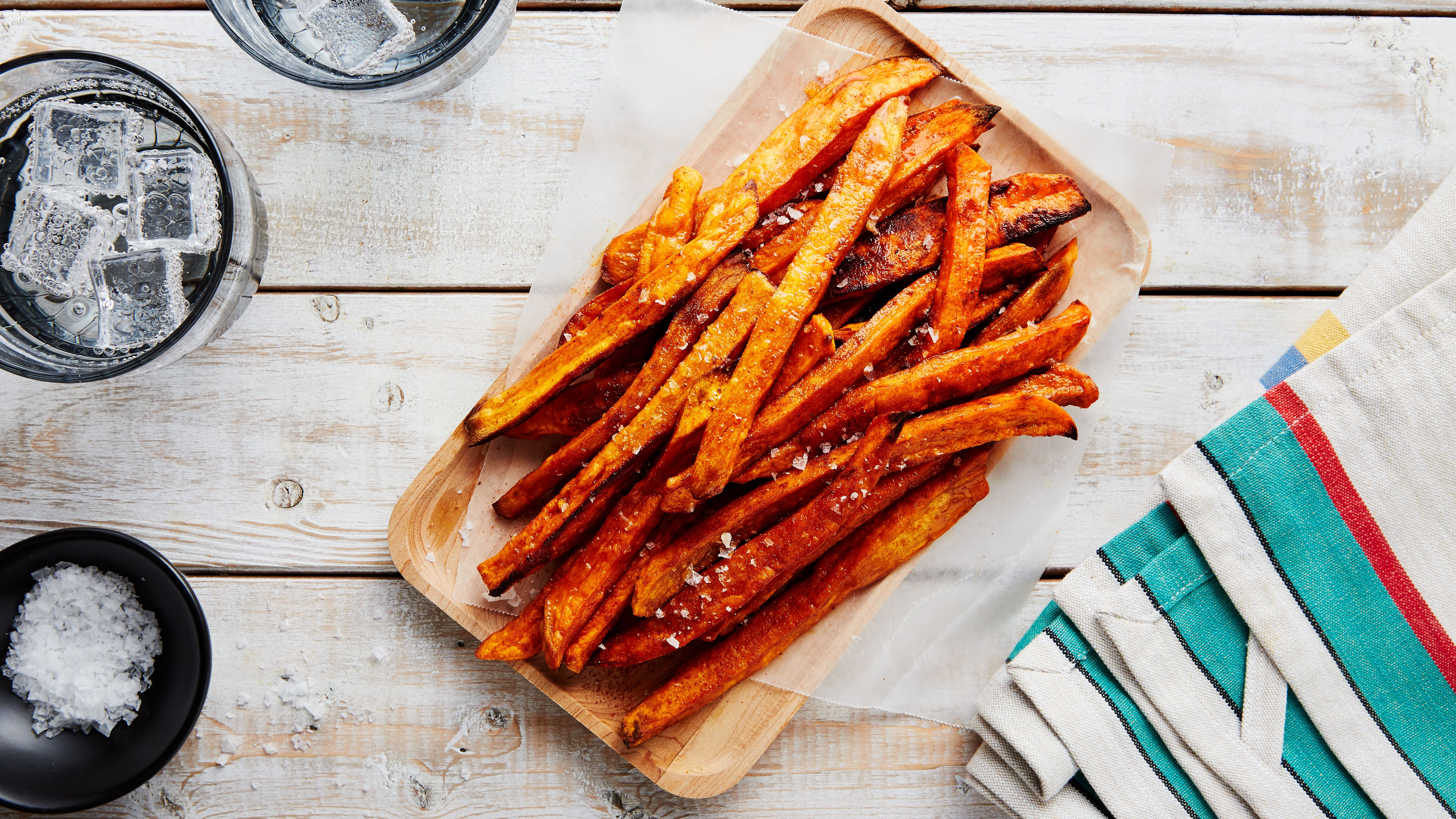 Baked Vegan Sweet Potato Fries Recipe