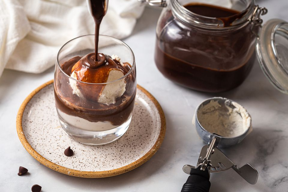 Homemade chocolate sauce recipe