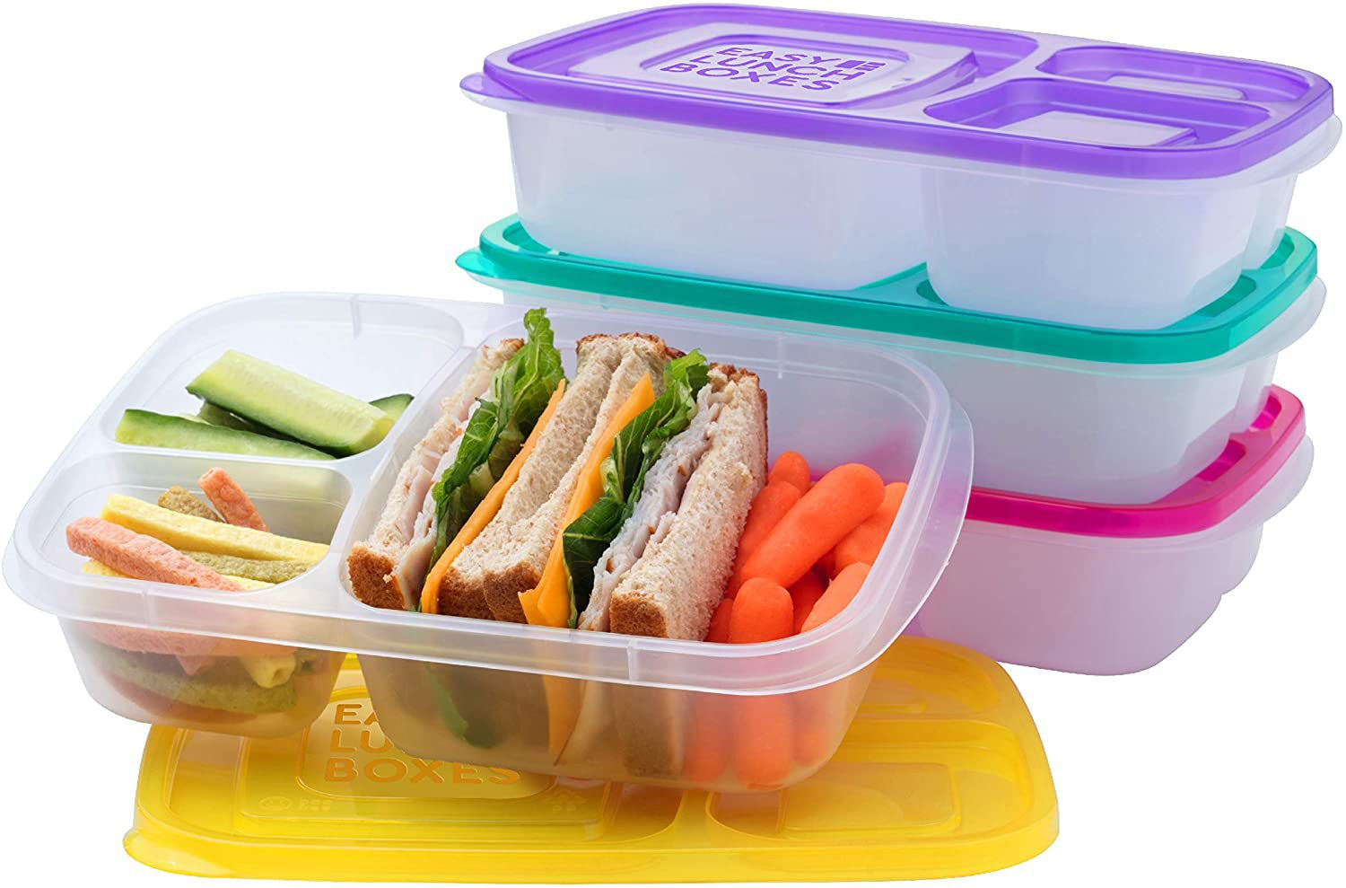 EasyLunchboxes Bento Lunch Boxes