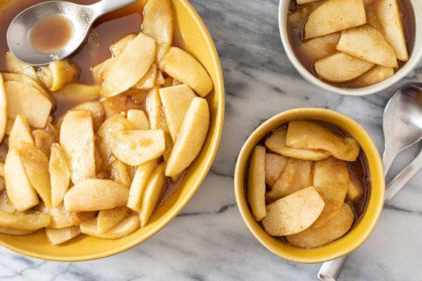 homemade cinnamon apples