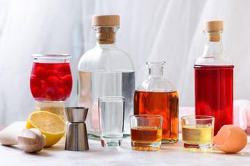 Pink Lady Cocktail recipe ingredients