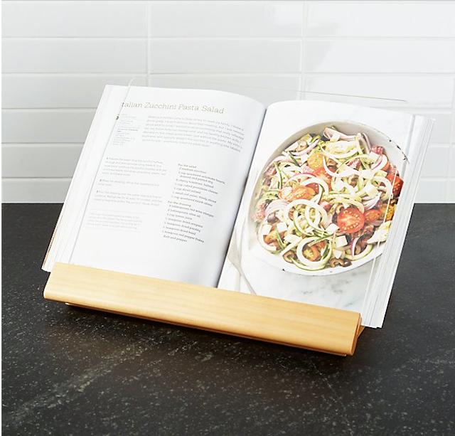 Crate & Barrel Cookbook Stand
