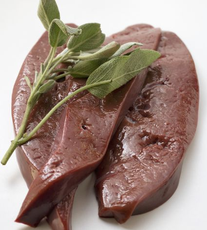 Calf's liver with sage