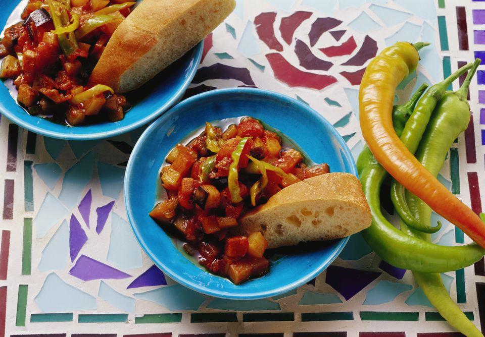 Eggplant and Vegetable Ragout (Şakşuka) Recipe