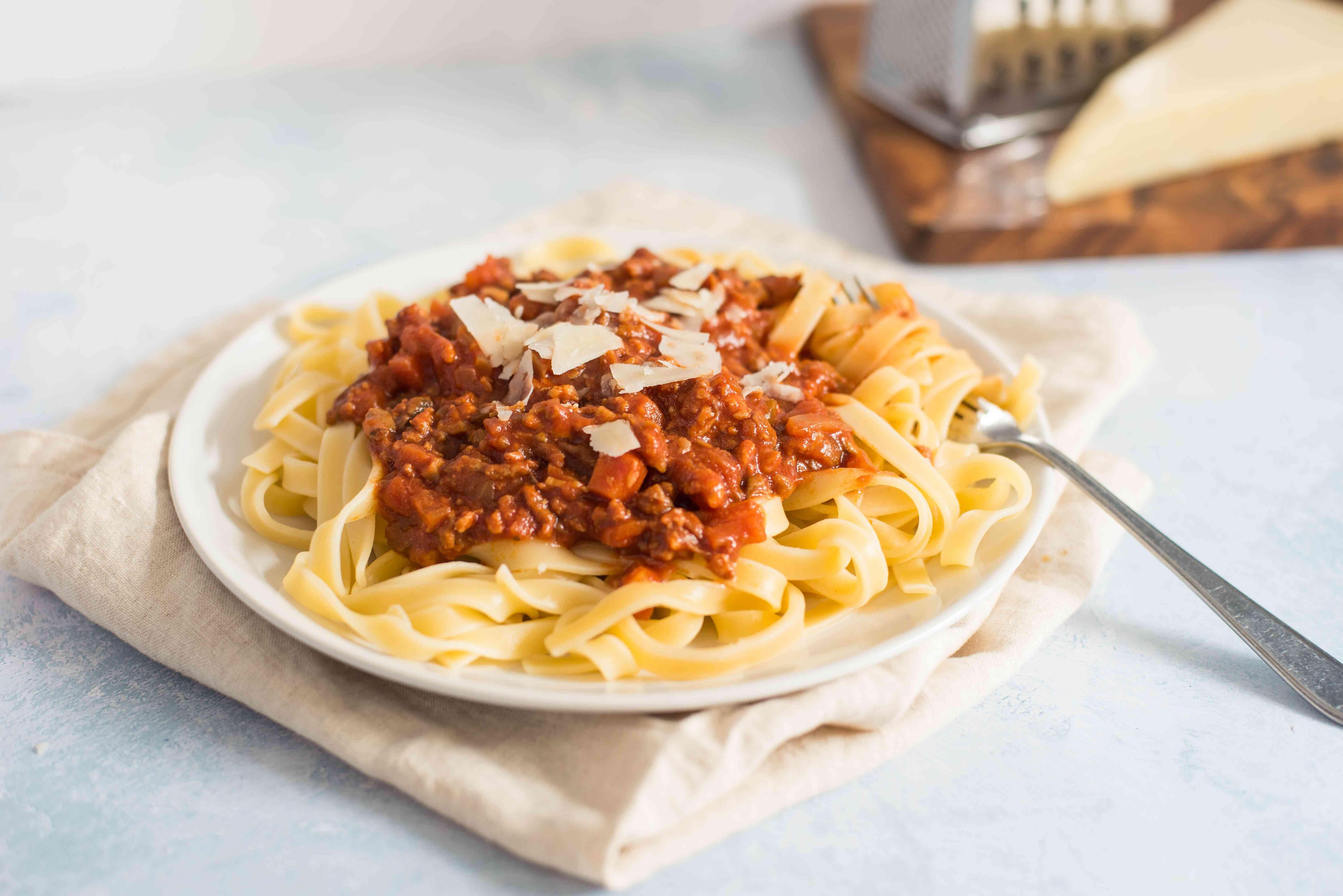 Tuscan style ragu meat sauce recipe