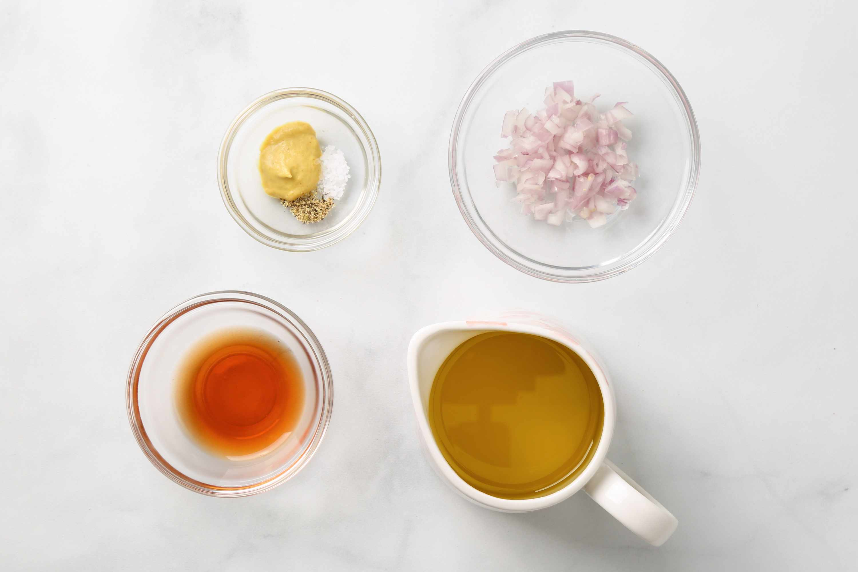 Classic French Vinaigrette ingredients
