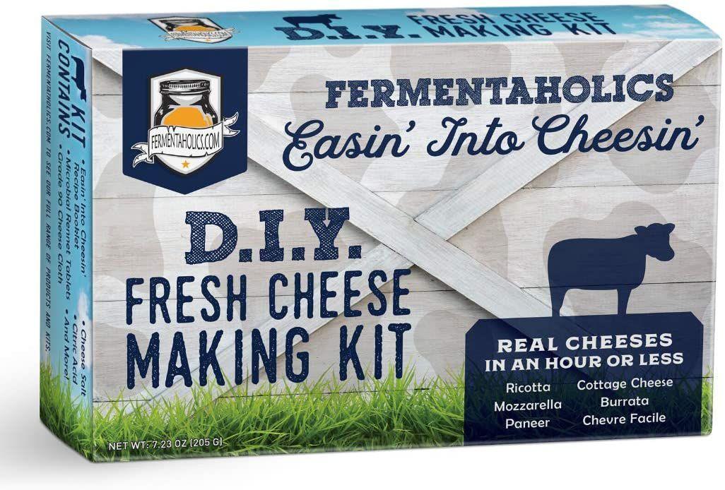 Fermentaholics DIY Fresh Cheese Making Kit