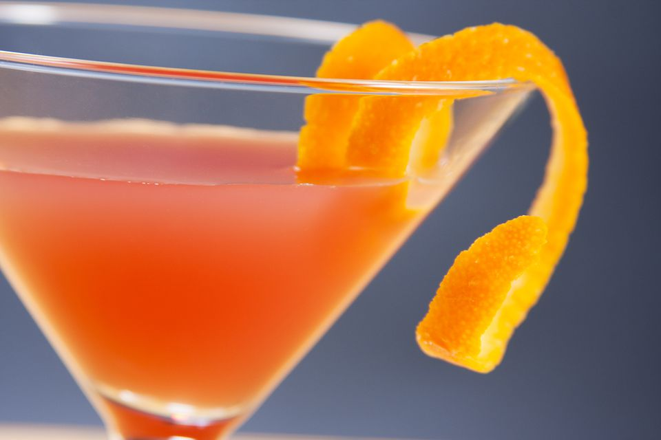 Skyy Vodka's Campari Cosmo Cocktail