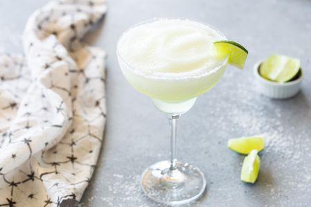 Frozen And Blended Lime Margarita Recipe