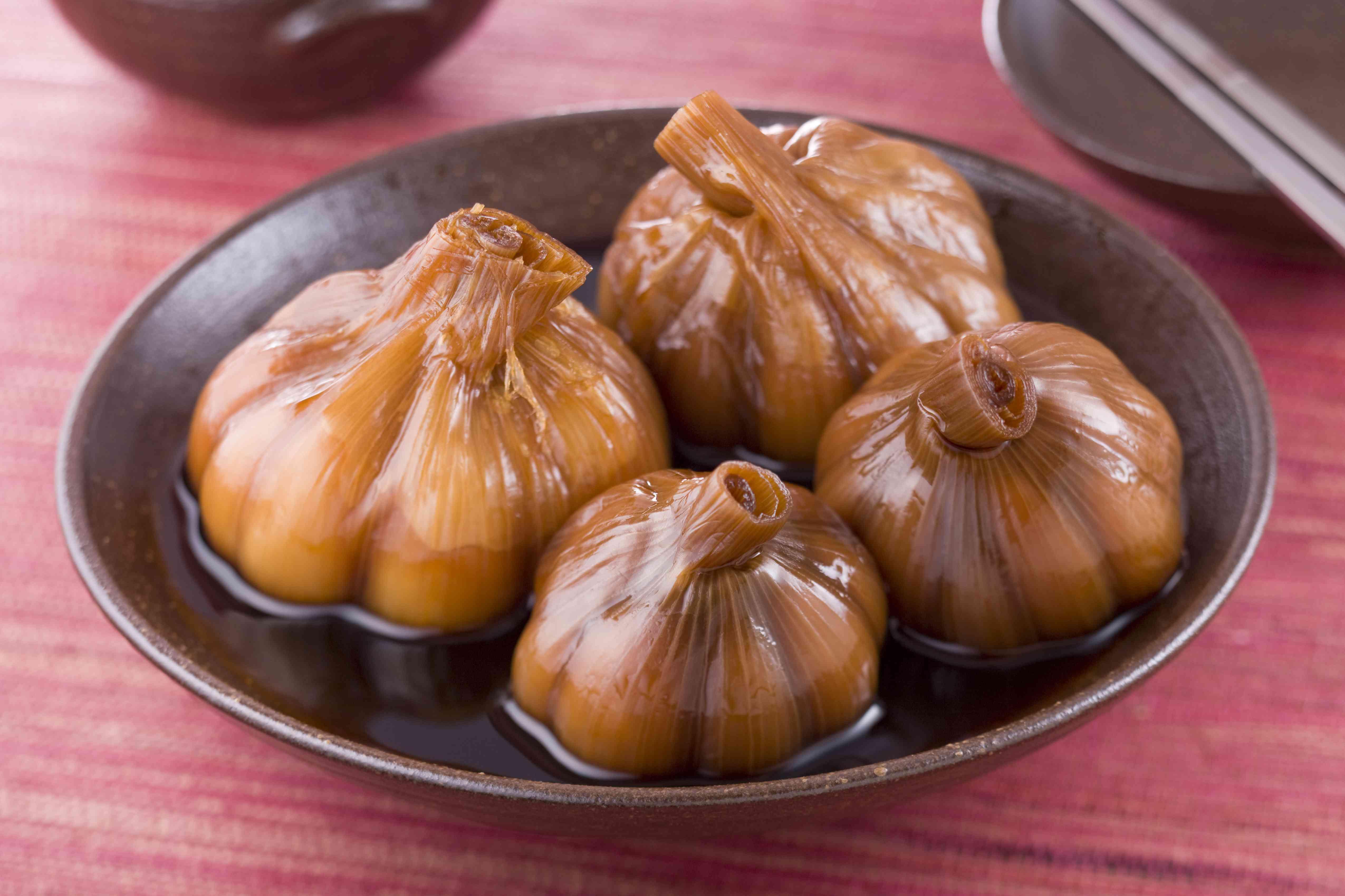 Manul Changachi - Korean pickled garlic