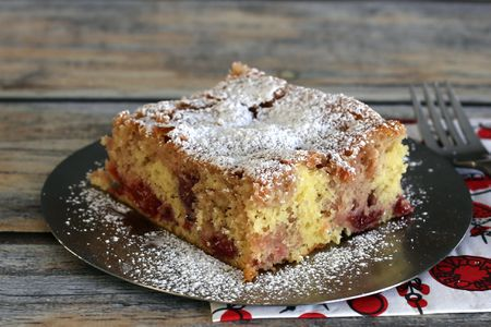 Cherry Cake Made Easy With Mix And Pie Filling