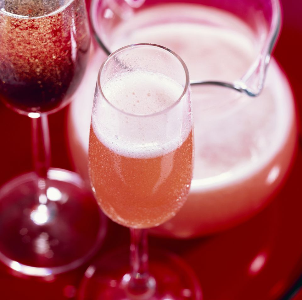 Kir Royal and Bellini