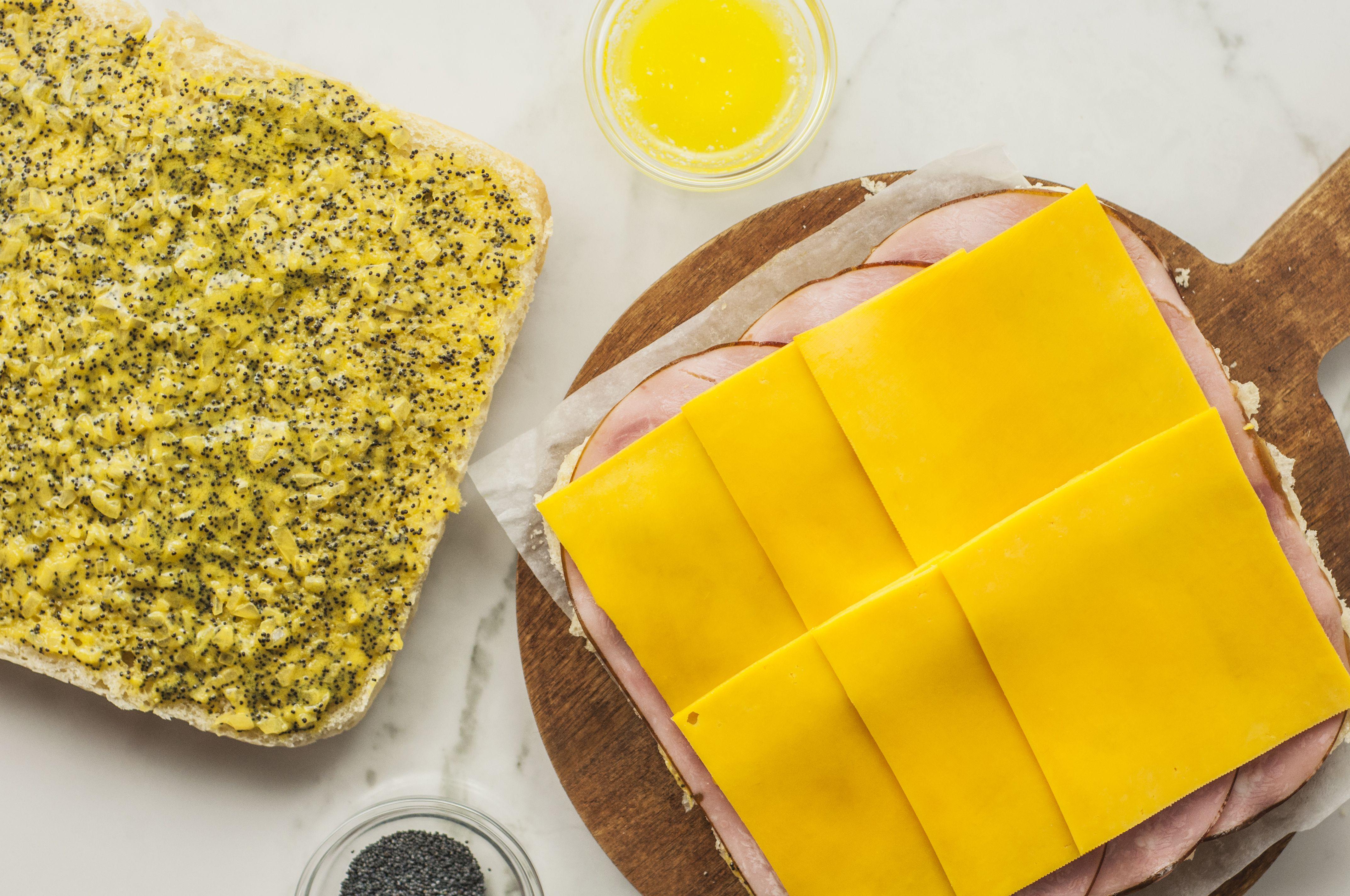 Party Ham Rolls Recipe