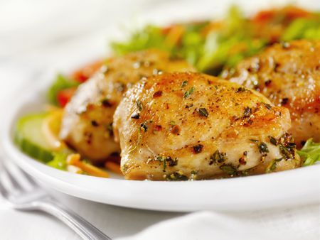Marinated Boneless Chicken Thighs Pargiot Recipe