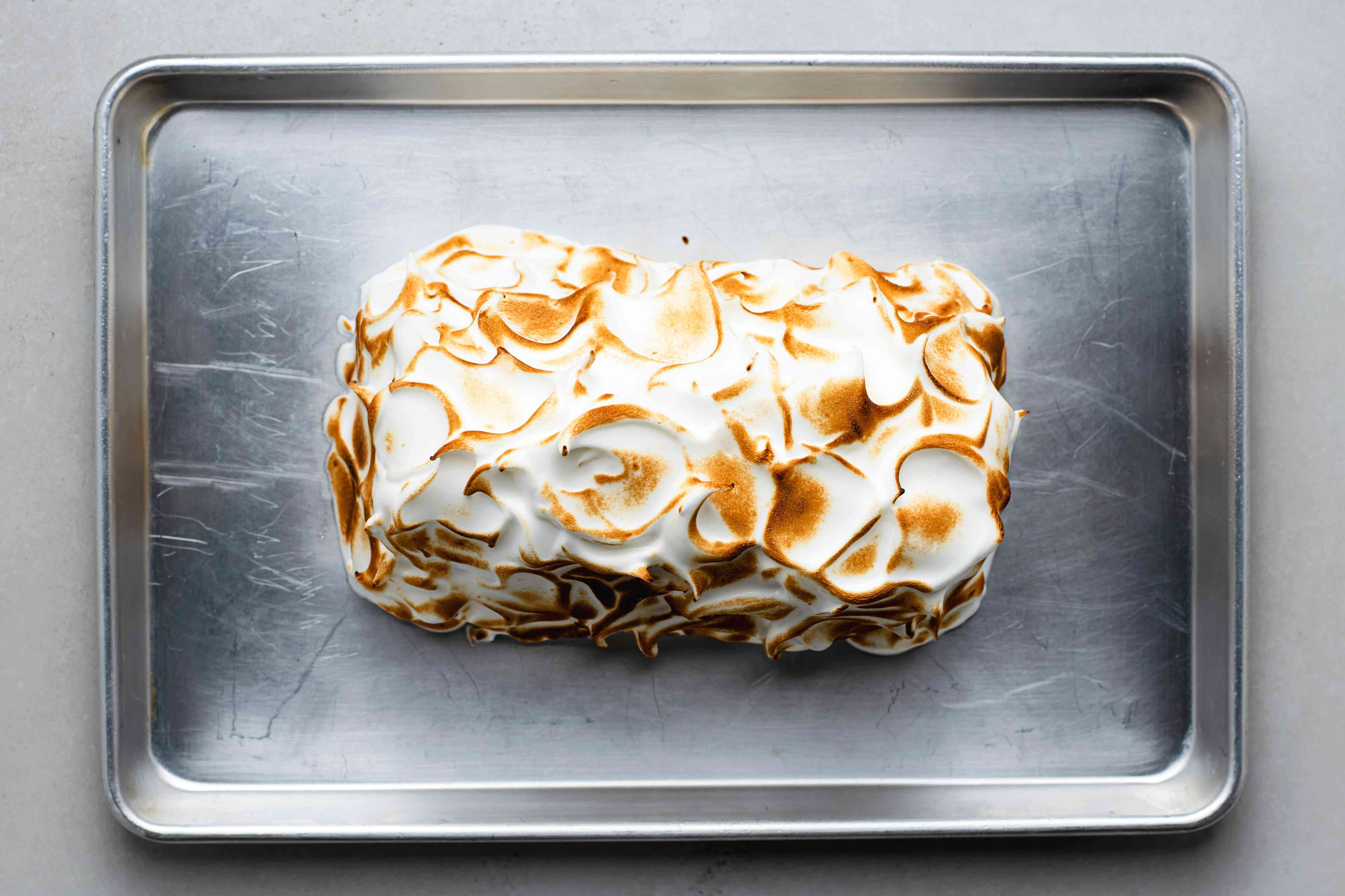 Classic Baked Alaska Dessert