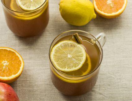 Fall spiced apple juice recipe