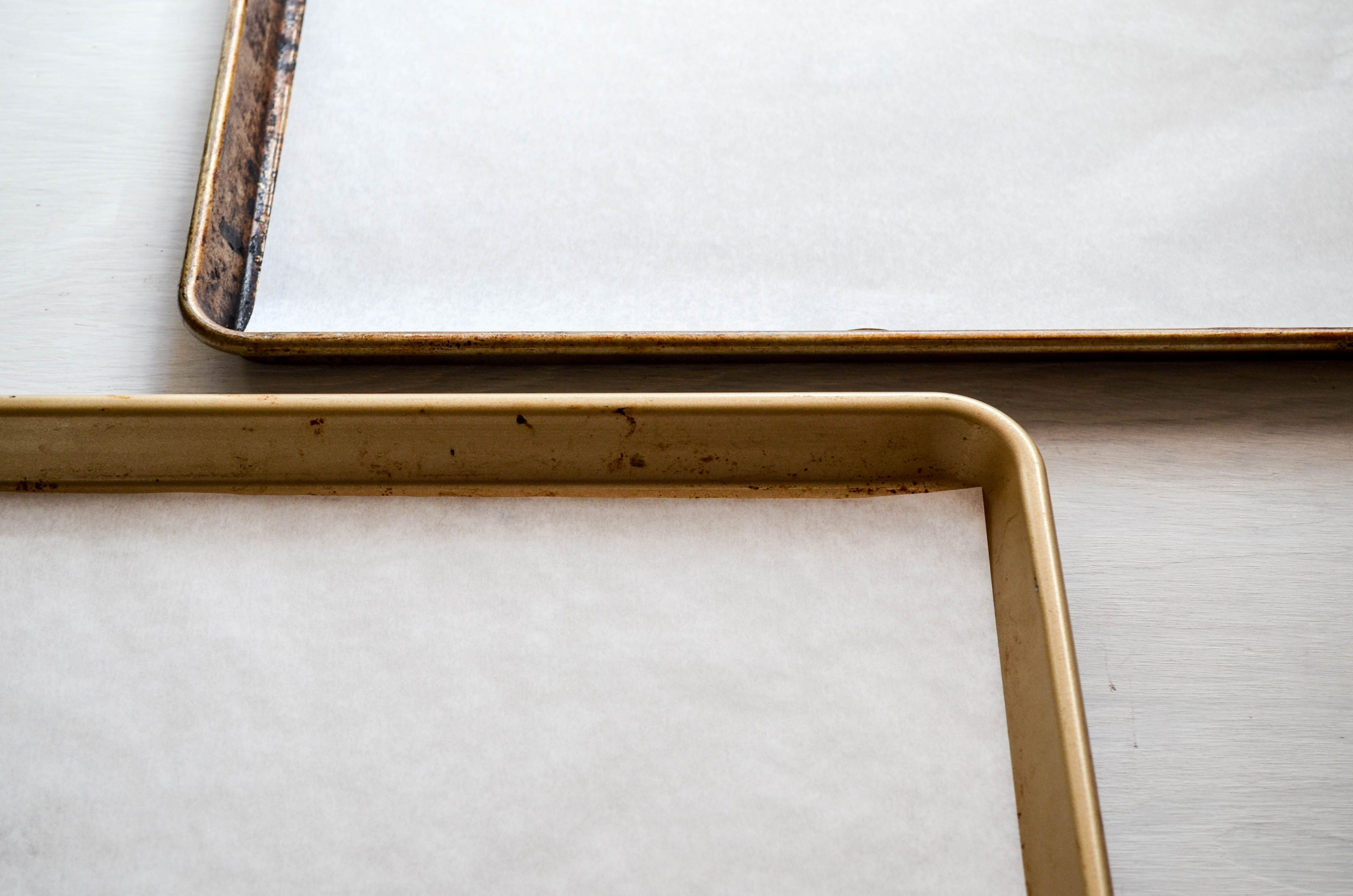 Lined Baking Sheets