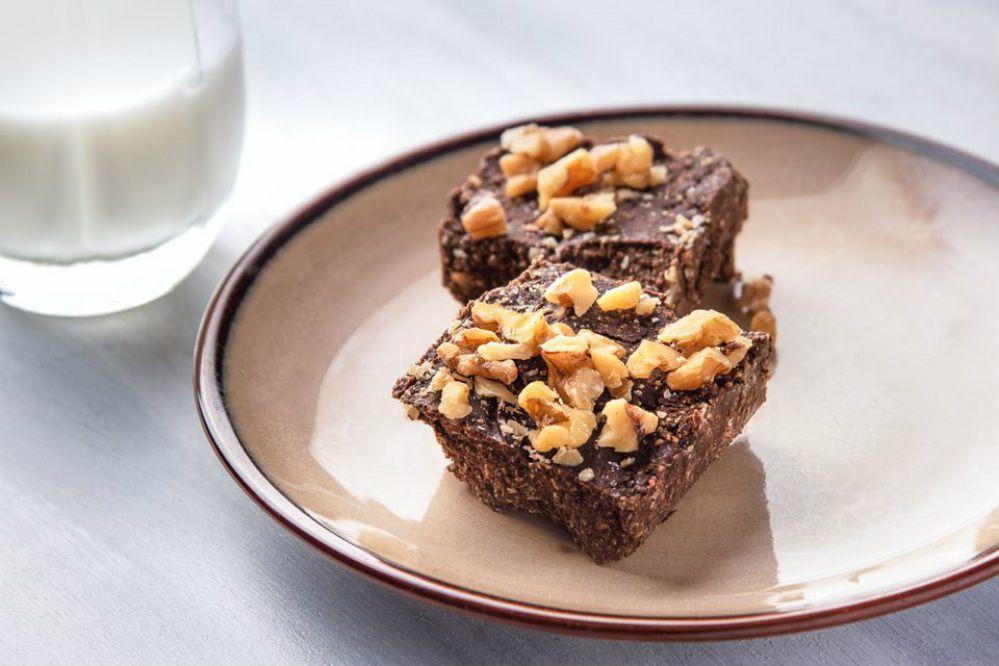 15-Minute No-Bake Brownies