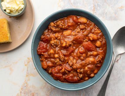 The Easiest Crock Pot Chili