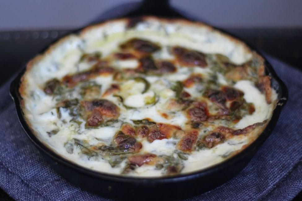 Hot and Cheesy Spinach Dip