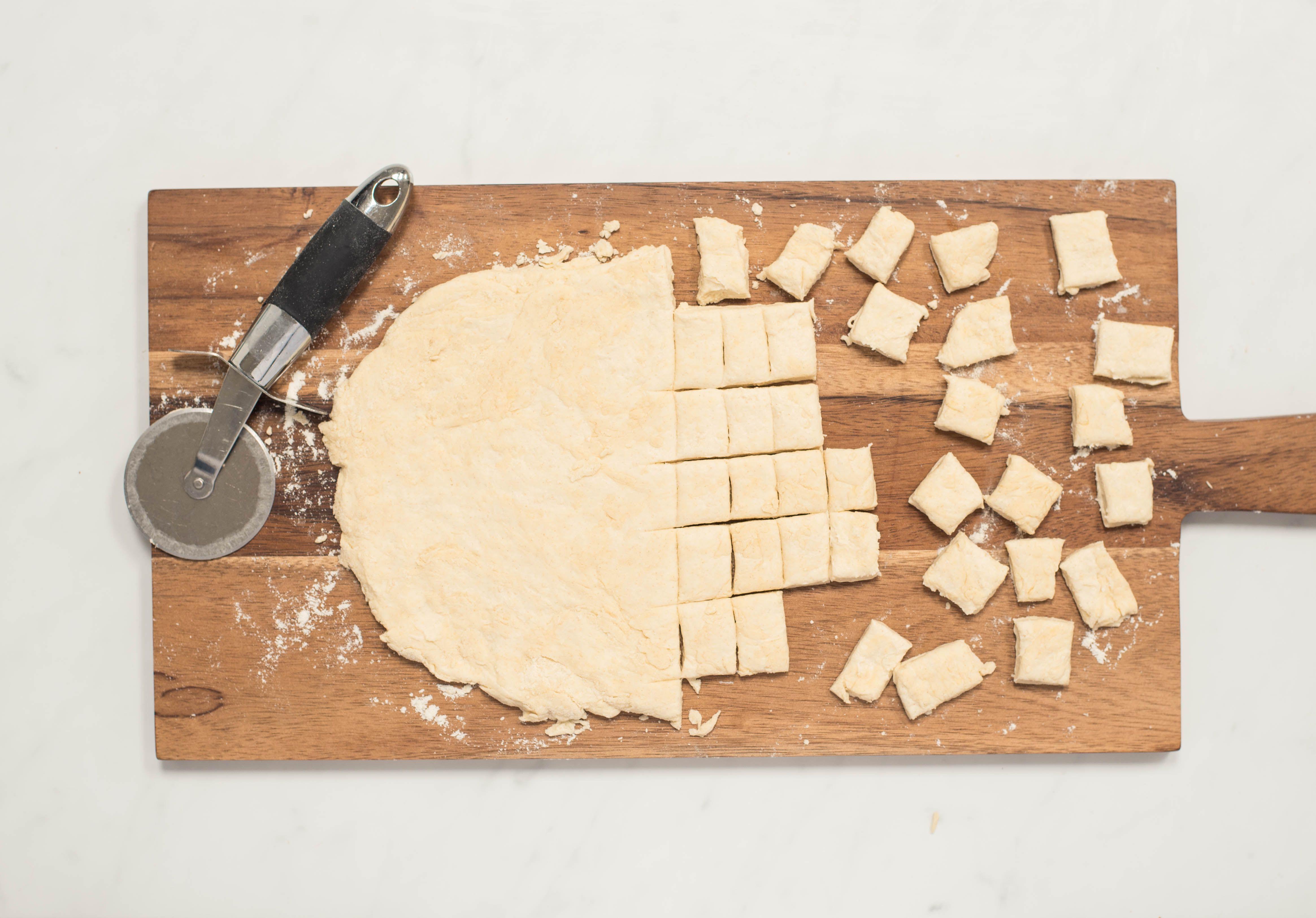 Slice dough